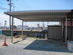 松阪市 Y様セッパンカーポート-After